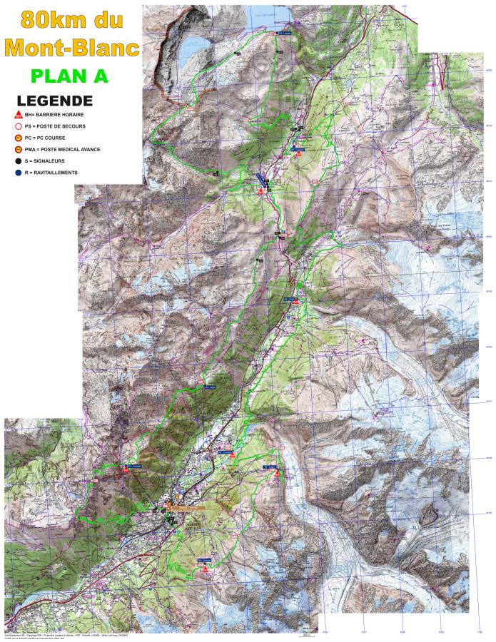 parcours 80km 2014 plan A