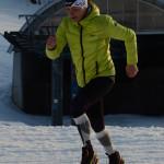 La Sportiva Crossover 2.0 GTX na sněhu