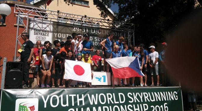 Záplava medailí z Youth World Skyrunning Champs pro Česko