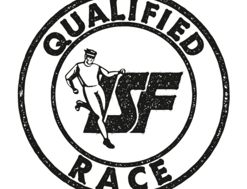 ISF QUALIFIED RACE LABEL