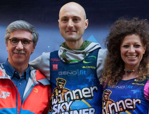 Vítěz Skyrunner® Italia Series 2016 a 2017 na Perunu