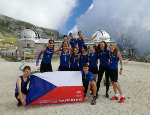 Mladí závodníci ve skyrunningu – MS 2018 Itálie