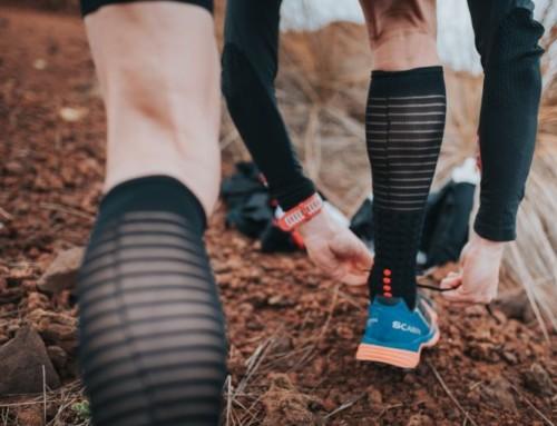 Běžecké podkolenky CompresSport Race & Recovery Full Socks